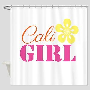 Cali Girl Shower Curtain