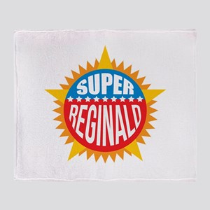 Super Reginald Throw Blanket