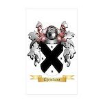 Christiane Sticker (Rectangle 50 pk)