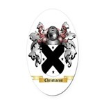 Christiaens Oval Car Magnet