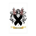 Christiaens Sticker (Rectangle 50 pk)