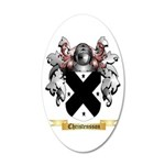 Christensson 20x12 Oval Wall Decal