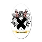 Christensson 35x21 Oval Wall Decal