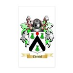 Christal Sticker (Rectangle)