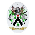 Christal Ornament (Oval)