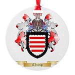 Chrisp Round Ornament