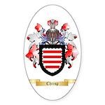 Chrisp Sticker (Oval 50 pk)