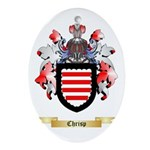 Chrisp Ornament (Oval)