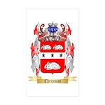 Chrismas Sticker (Rectangle 50 pk)