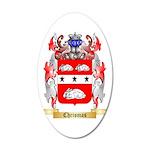 Chrismas 35x21 Oval Wall Decal