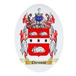 Chrismas Ornament (Oval)