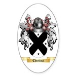 Chretinat Sticker (Oval 10 pk)