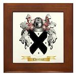 Chretinat Framed Tile