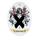 Chretinat Ornament (Oval)