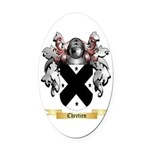 Chretien Oval Car Magnet