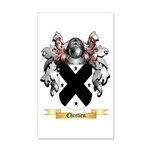 Chretien 20x12 Wall Decal