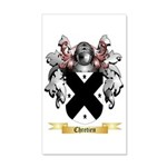 Chretien 35x21 Wall Decal