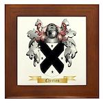 Chretien Framed Tile