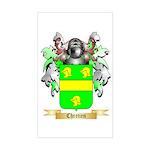 Chretien (2) Sticker (Rectangle)