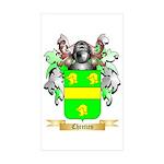 Chretien (2) Sticker (Rectangle 10 pk)