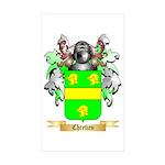 Chretien (2) Sticker (Rectangle 50 pk)