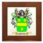 Chretien (2) Framed Tile