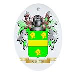Chretien (2) Ornament (Oval)