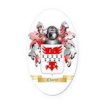 Choyce Oval Car Magnet
