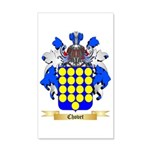 Chovet 35x21 Wall Decal