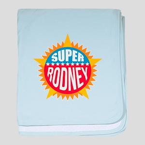 Super Rodney baby blanket