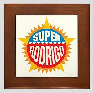 Super Rodrigo Framed Tile