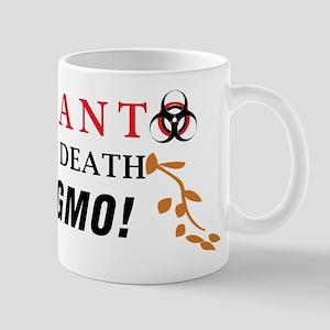 SEEDS OF DEATH STOP GMO Mug