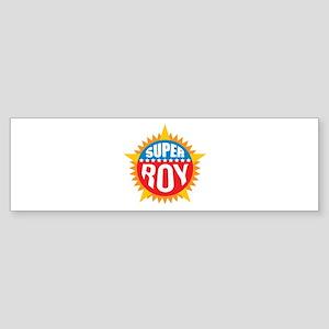 Super Roy Bumper Sticker