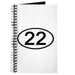 Number 22 Oval Journal