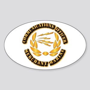 Communications Officer - Merchant Marine Sticker (