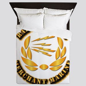 Radio Officer - Merchant Marine Queen Duvet