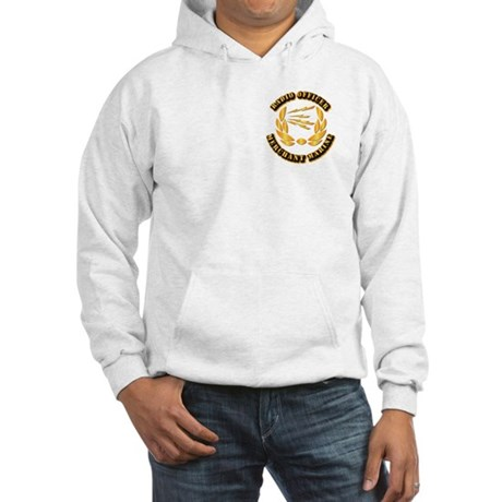 Radio Officer - Merchant Marine Hooded Sweatshirt