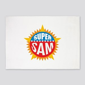 Super Sam 5'x7'Area Rug