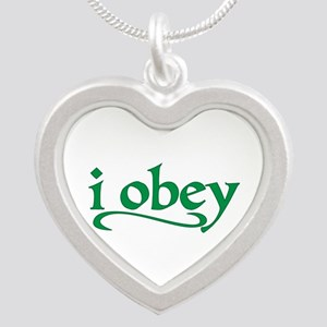 I Obey Necklaces