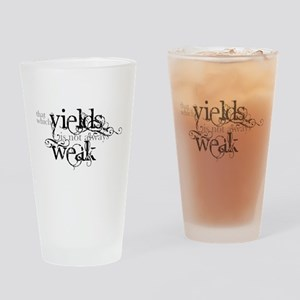 That Which Yields Drinking Glass