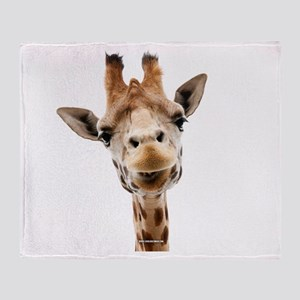 Giraffe Throw Blanket