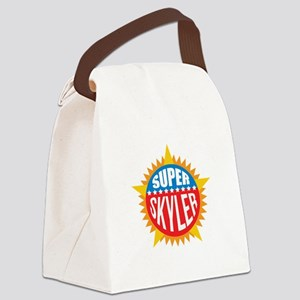 Super Skyler Canvas Lunch Bag