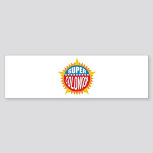 Super Solomon Bumper Sticker