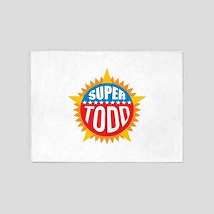 Super Todd 5'x7'Area Rug