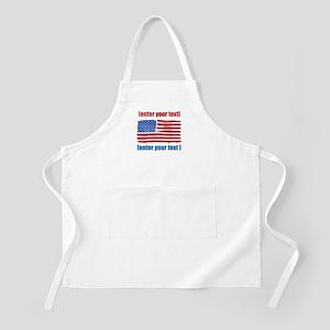 US flag artistic Apron