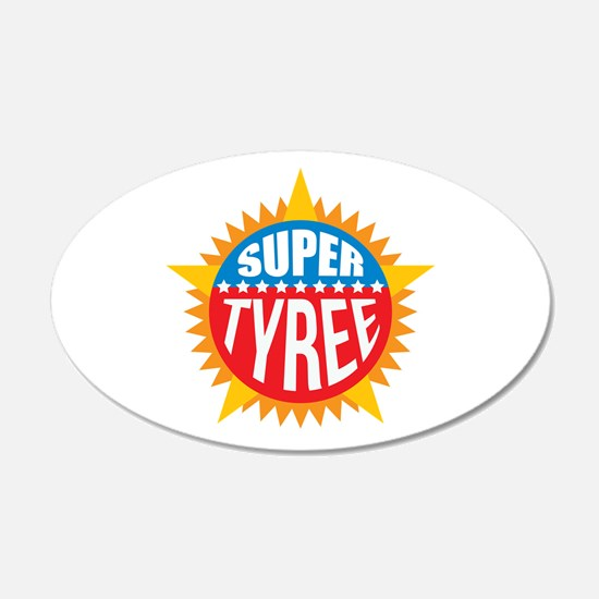 Super Tyree Wall Decal