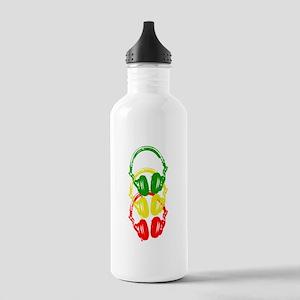 Rastafarian Color Stencil Style Headphones Water B