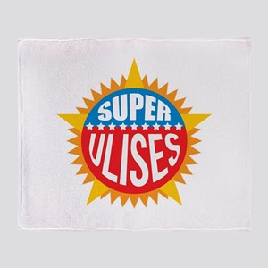 Super Ulises Throw Blanket