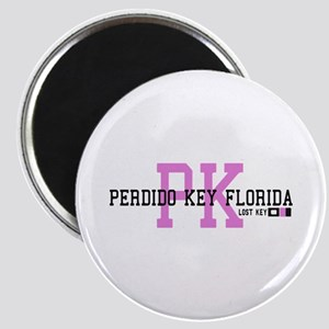 Perdido Key - Varsity Design. Magnet