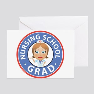 Nursing School Grad Greeting Card